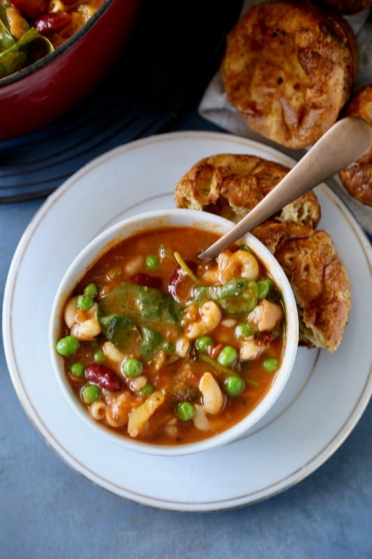 Minestrone Soup Remodelaholic 6