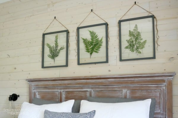Remodelaholic How To Make Your Own Diy Pressed Plant Frame