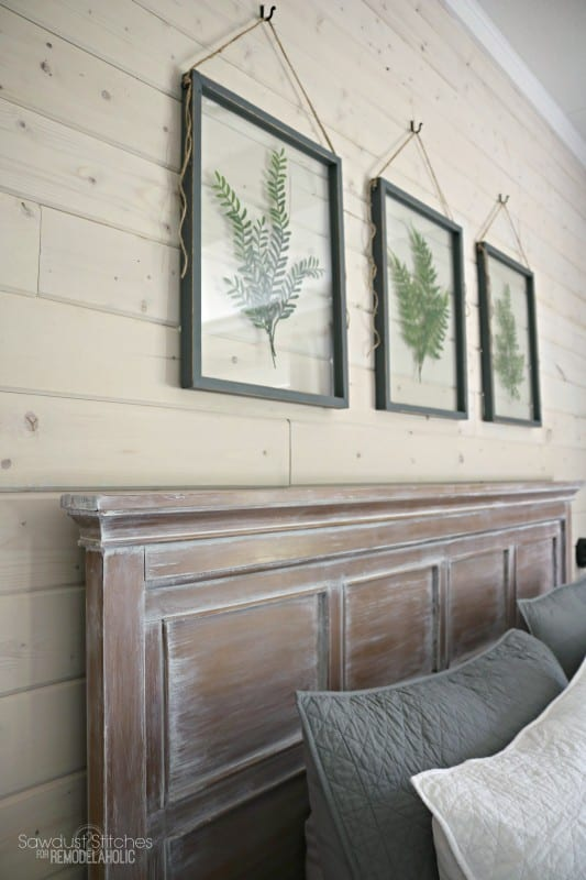 Pressed Plant Glass Frames By SAwdust2Stitches For Remodelaholic.com