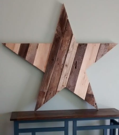 Remodelaholic Large Rustic Star