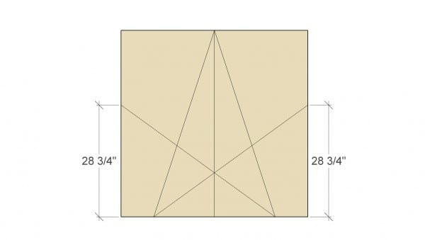 Remodelaholic Large Rustic Star Step 3
