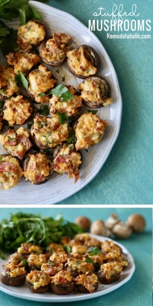 Stuffed Mushrooms Remodelaholic