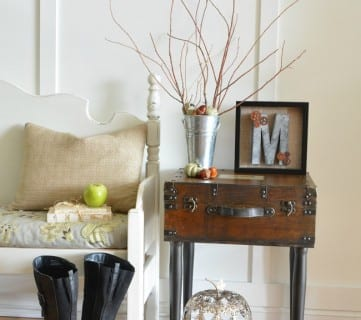 Friday Favorites: Trunk Side Table and Pumpkins