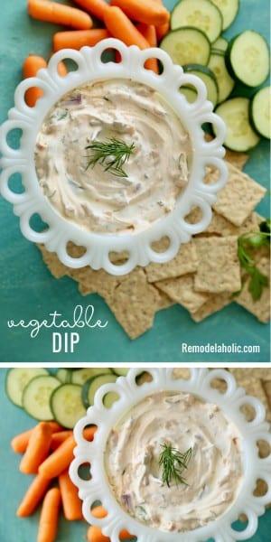Vegetable Dip Remodelaholic