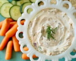 Vegetable Dip Remodelaholic 3