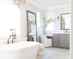 Postbox Designs Farmhouse Bathroom