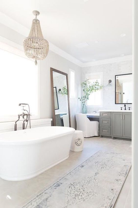 Remodelaholic | Create A Timeless Farmhouse Bathroom That Will Stand The Test Of Time