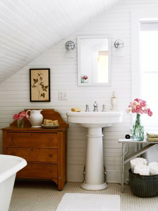 Classic Farmhouse Bathroom Inspiration