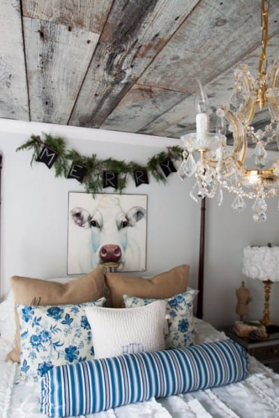 Christmas Decor Heathered Nest Holiday Guest Room 72