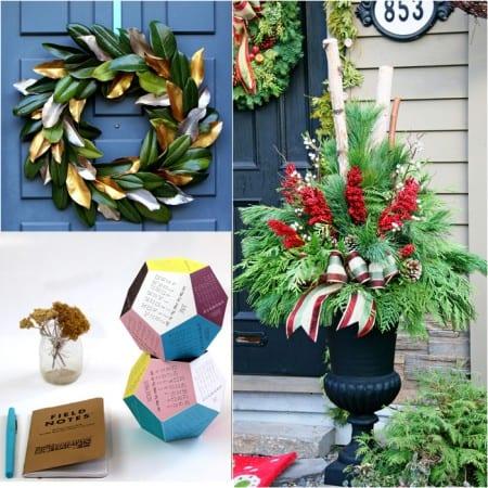 Christmas Decorations DIY Projects Apieceofrainbowblog 1