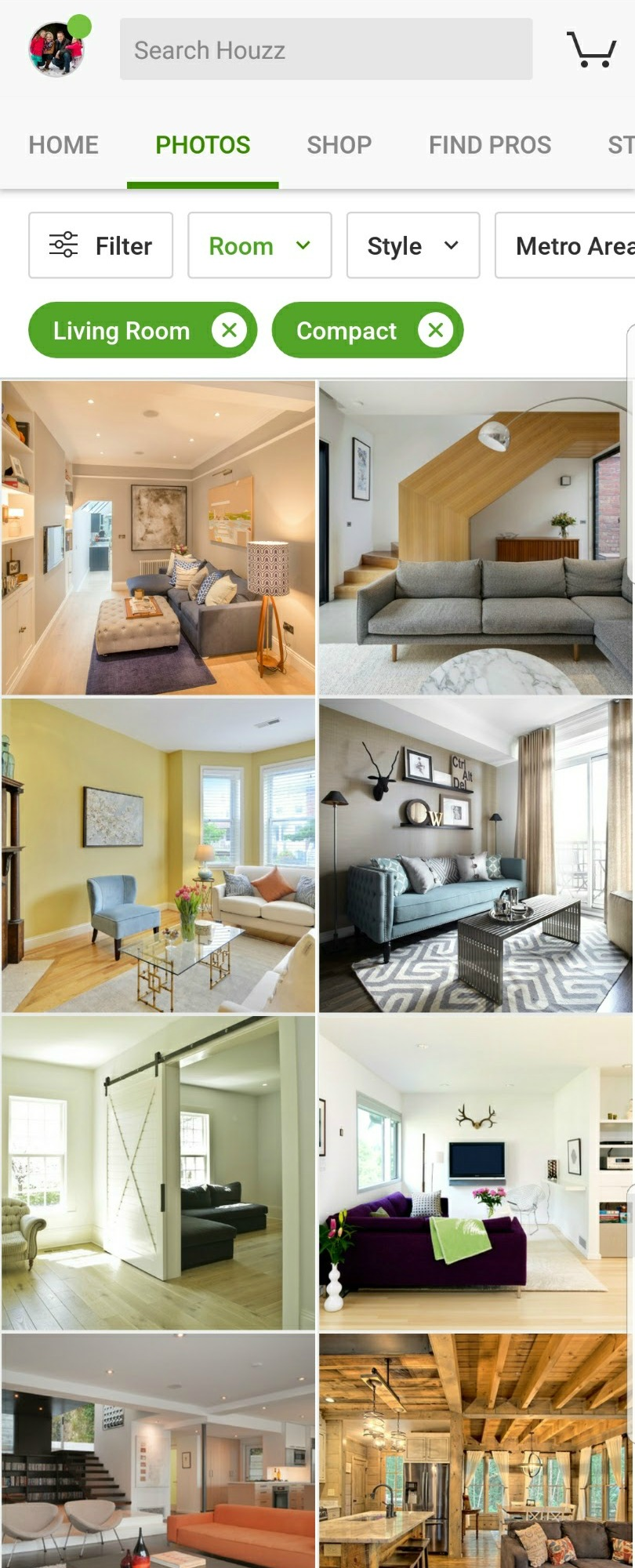 Houzz Home Inspiration Screenshot 02
