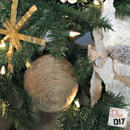 Jute Ball Ornaments Feature
