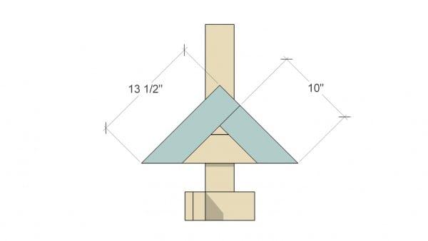 Remodelaholic Herringbone Tree Assemble Herringbone 2
