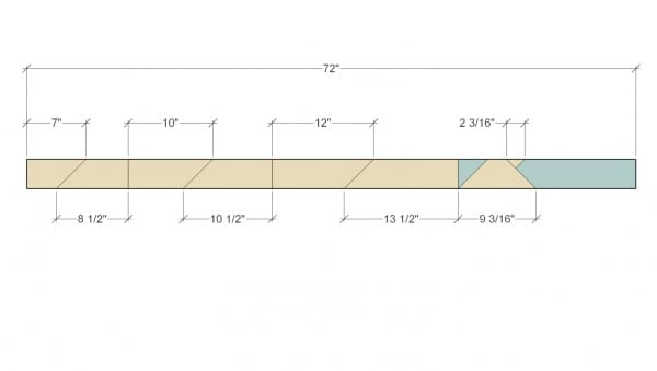 Remodelaholic Herringbone Tree Cut Diagram 2