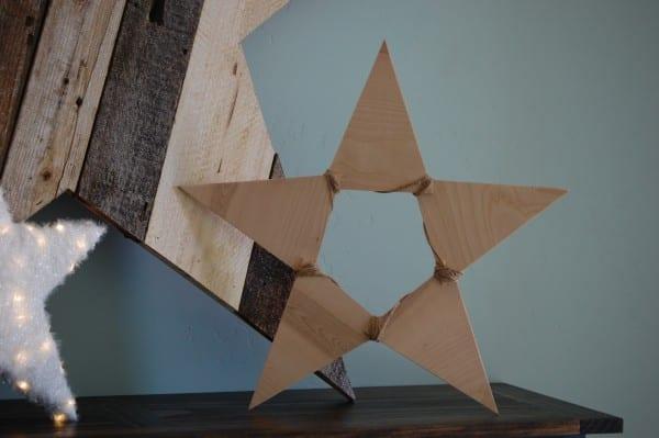 Remodelaholic Plywood Pennant Star