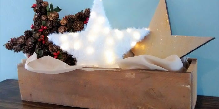 Easy DIY Wooden Christmas Stars, 3 Different Ways, from One Board
