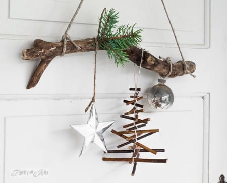 Twig Christmas Tree Funky Junk Interiors 012