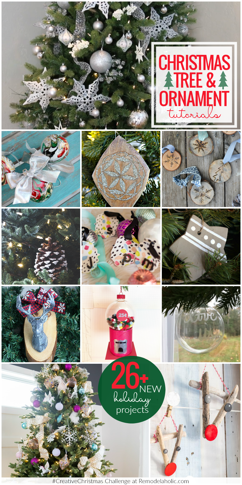 Remodelaholic 150 Christmas Ideas Decorations Printables And More