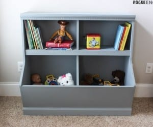 Bookcase With Toy Storage Rogue Engineer