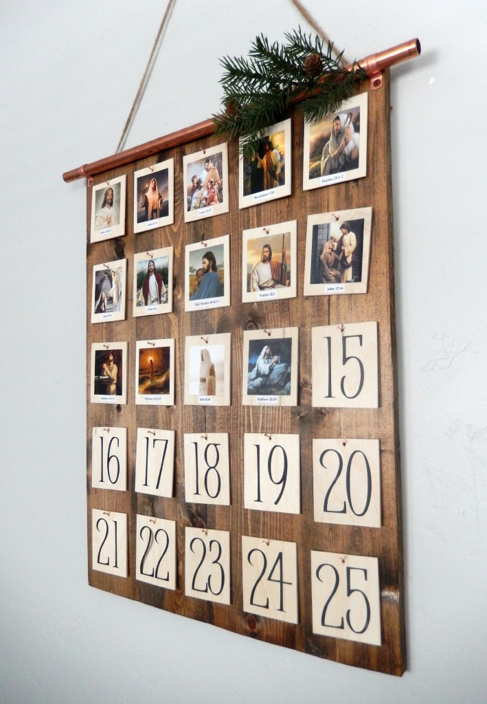 Diy Christian Advent Calendar : Remodelaholic it s the christmas countdown charming