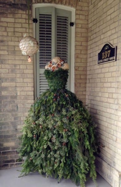 Christmas Dress Outside