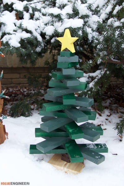 Remodelaholic 30 Diy Alternative Christmas Trees