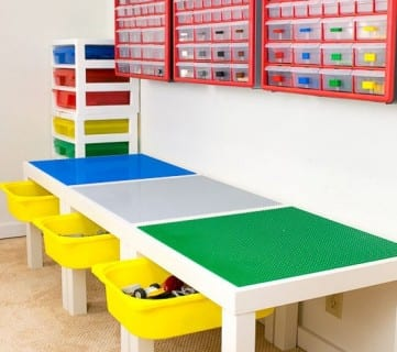 DIY Lego Table With Storage Final 1