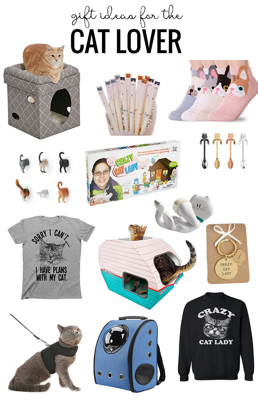 Gift Ideas For The Cat Lover