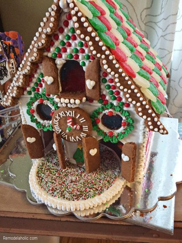 Gingerbread Church, Decorating Ideas From Remodelaholic