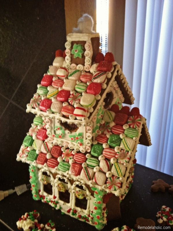 Homemade Gingerbread House Ideas From Remodelaholic