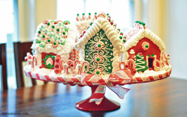 Ideas For Decorating Gingerbread Houses From Remodelaholic