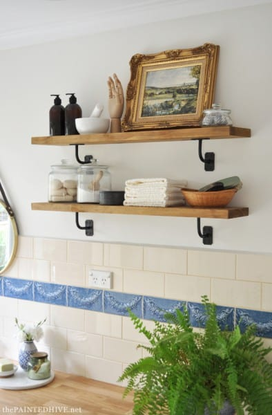Laundry Shelves