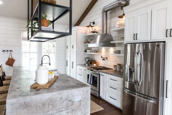 How to get a simillar look to the Fixer Upper Little Shack on the Prairie Kitchen