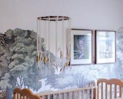 Modern Bohemian Dream Catcher Nursery Mobile DIY Tutorial Remodelaholic