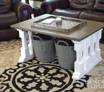Friday Favorites: Painted Floors and Craft Table