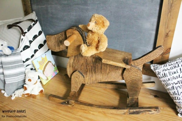 DIY Rocking Horse Plans, Wooden Rocking Dog