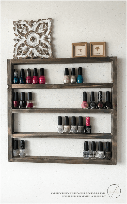 Rustic Wooden Display Finished Project