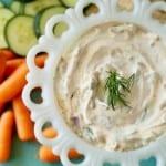 Vegetable Dip Remodelaholic 3 600x400