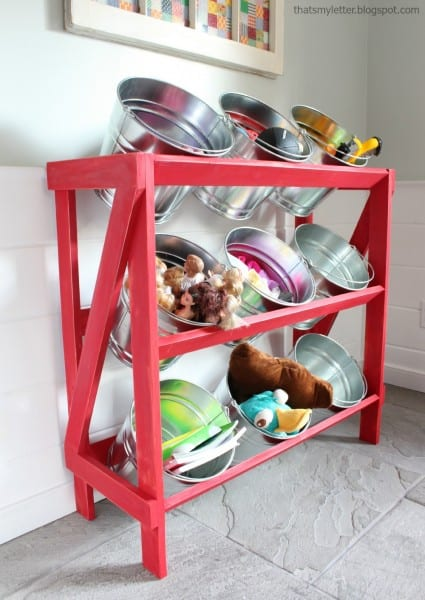 Bucket Shelving 1