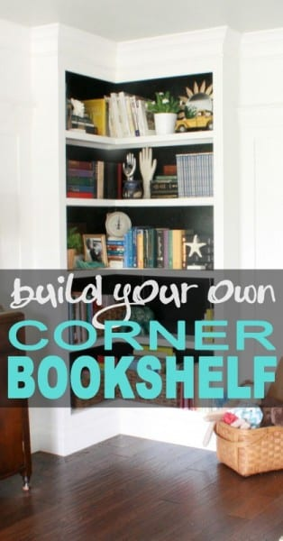 Built In Corner Bookshelf Pin 418x800