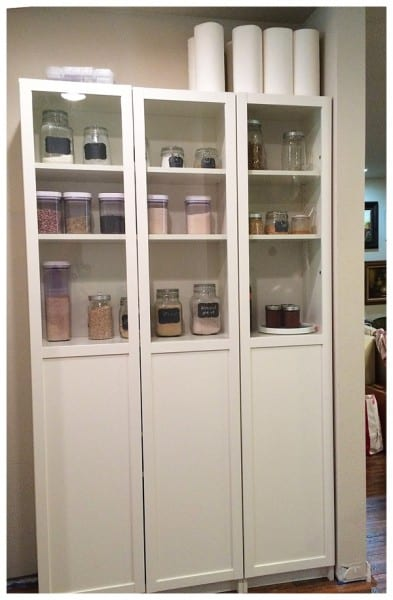 Ikea Hack Billy Bookcase As Pantry Storage: 15+ Clever Shelving Hacks