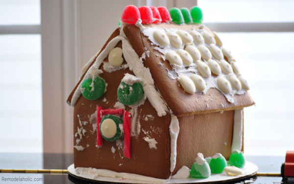 Kids Gingerbread House Ideas, From Remodelaholic