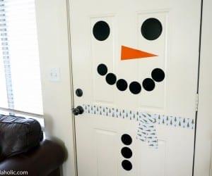 Printable Door Snowman Magnetic @Remodelaholic (3)