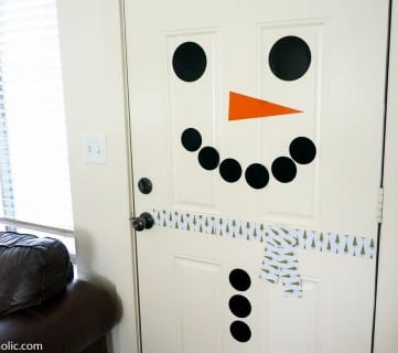 Printable Door Snowman Magnetic @Remodelaholic (3)