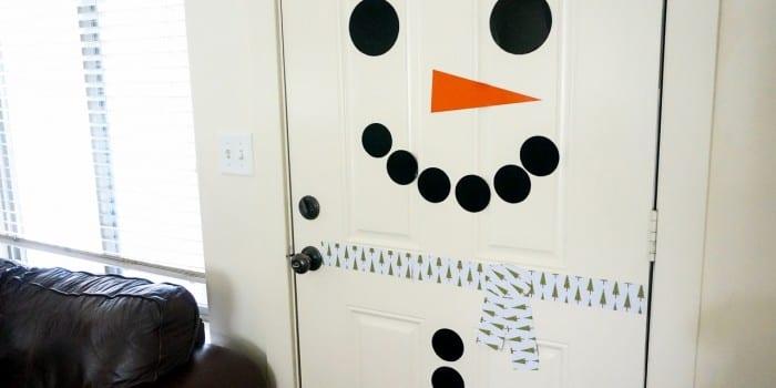 Free Printable Snowman Door Decorating Kit