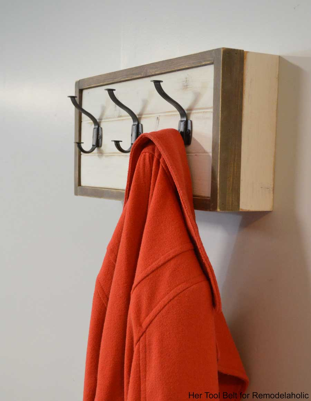 Louise green coat rack