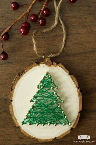 Twopurplecouches Mini String Art Ornaments