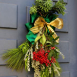 DIY Evergreen Christmas Swag Tutorial With Video, A Piece Of Rainbow On Remodelaholic