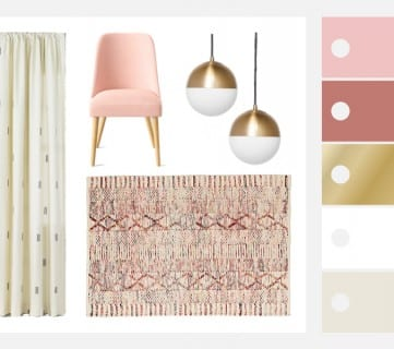 Pretty in Pink! Blush Pink Bedroom Inspiration