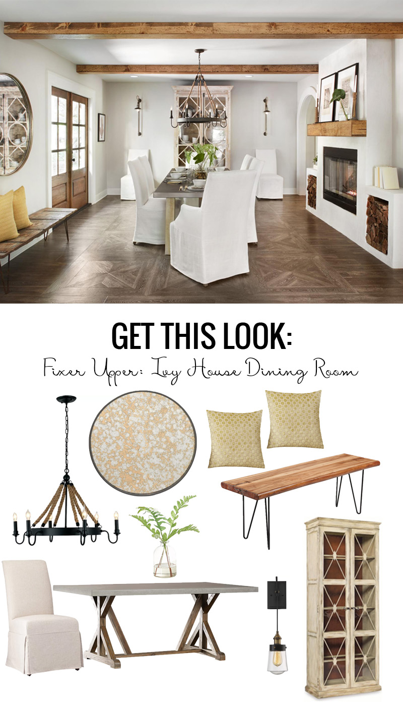 Perfect Get The Coastal Villa Look Of The Fixer Upper Ivy House Dining Room  Featured On Remodelaholic